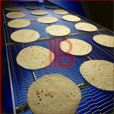 Enrober Conveyor Belt for chapati
