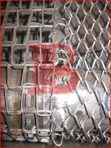 Honeycomb Belt With Wiremesh
