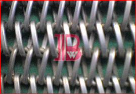 Flatted Wire Conveyor Belt